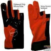 Orange free-running gloves, best made parkour gloves