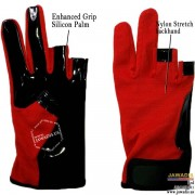 Red fingerless parkour gloves, best discount freerunning gloves