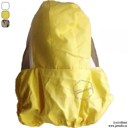 Yellow Adult Fence Style Beekeeping Veil Vest, Veil for Farmer
