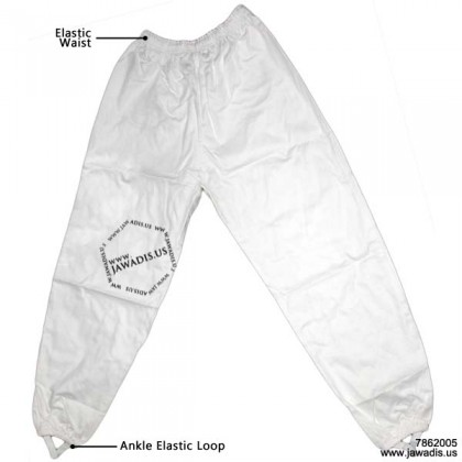 2 Piece White Beekeepeing Suit Sheriff Veil Jacket & Pants Combo