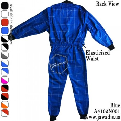 Adult Go Kart Racing Miami Go Suits and FREE Carrying Case - Blue