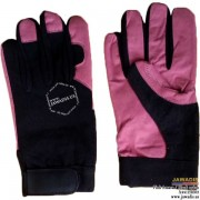 Reinforced Stitch, Multipurpose, Best Mechanic Gloves Pink - Size L