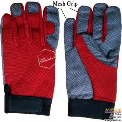 Assembly, Repair Best Cheap Mechanic Grip Gloves Red - Size L