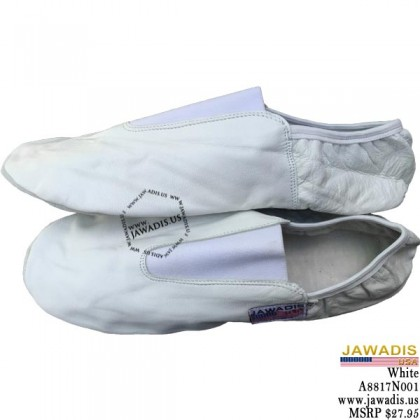 Jawadis Ballet Flats, Dance, Ballroom Shoes - White