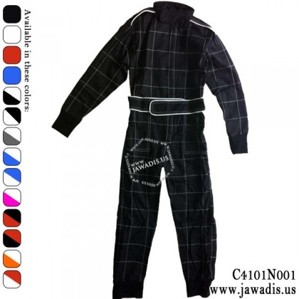 Childrens Racing Overalls and FREE Carrying Case - Black