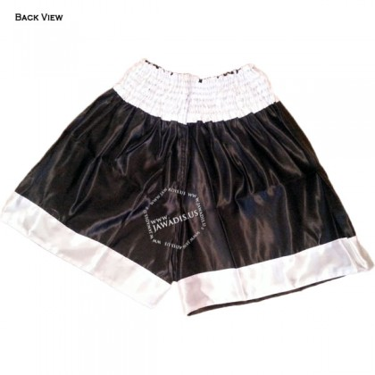 Adult Black & White Training Boxers Best Boxing Shorts Gym Trunks