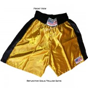 Adult Yellow / Tan Training Boxers Best Boxing Shorts Gym Trunks