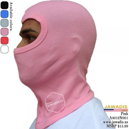 Pink Adult Balacava, Monkey Cap, Head Sock Balacalva One-Size