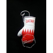 Mini Boxing Gloves - Qatar - Red
