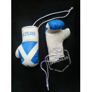 Mini Boxing Gloves - Scotland