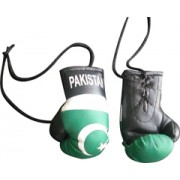 Mini Boxing Gloves - Pakistan - Black